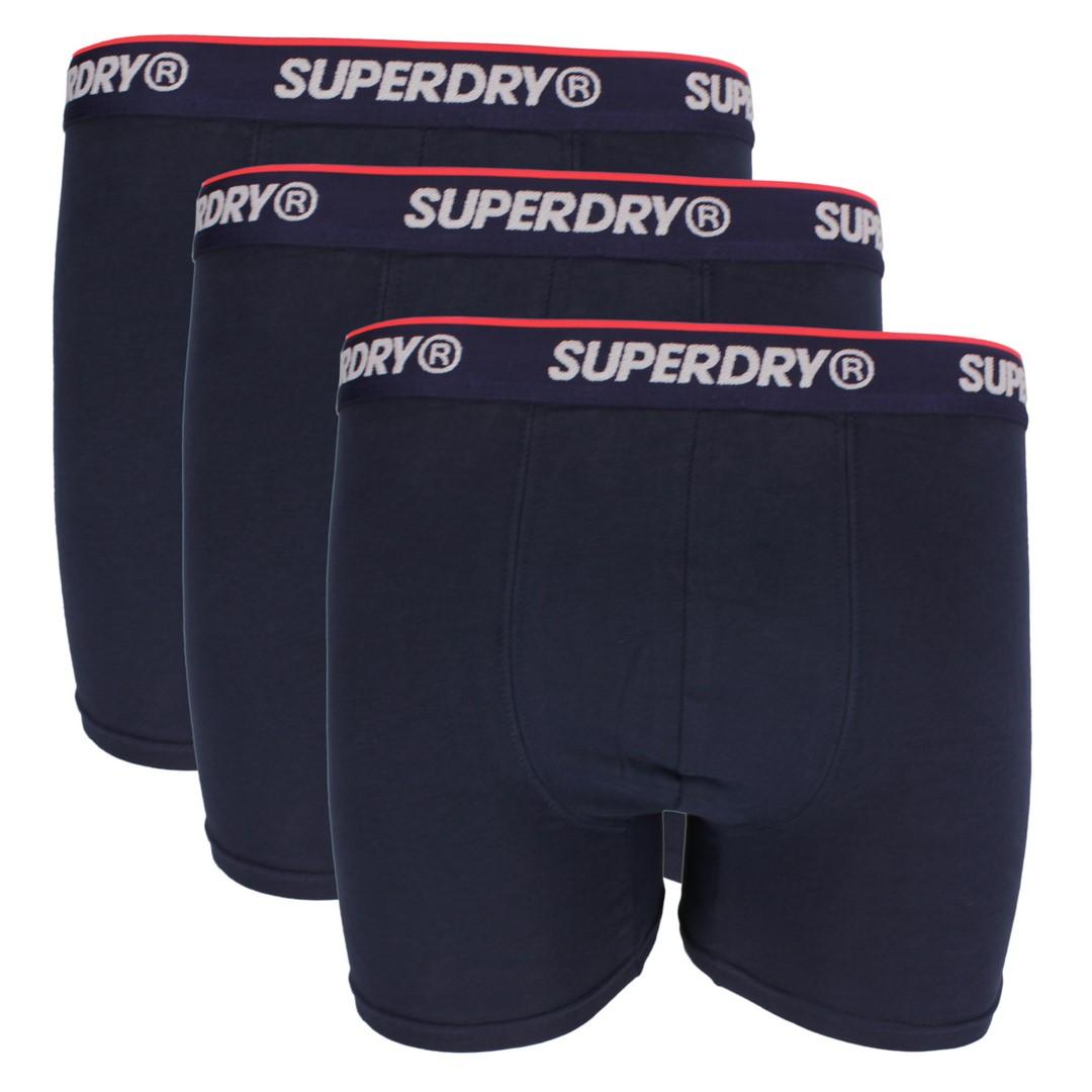Superdry Boxershort Dreier Pack Classic Triple Pack blau M3110006A J6D navy