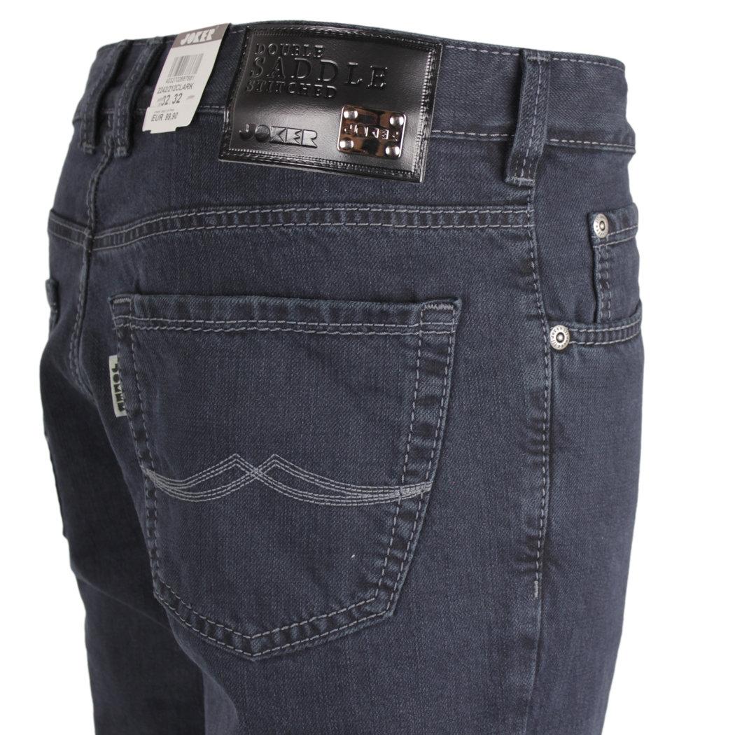 Joker Clark Dark Ink Jeans Hose Modern Fit schwarz ausgewaschen 128 2242 212 Clark