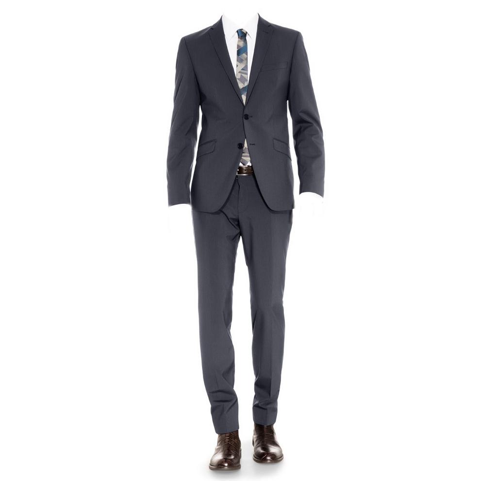 Benvenuto Baukasten Business Hose Super Slim Fit PLS dunkel blau 20733 614660 1254