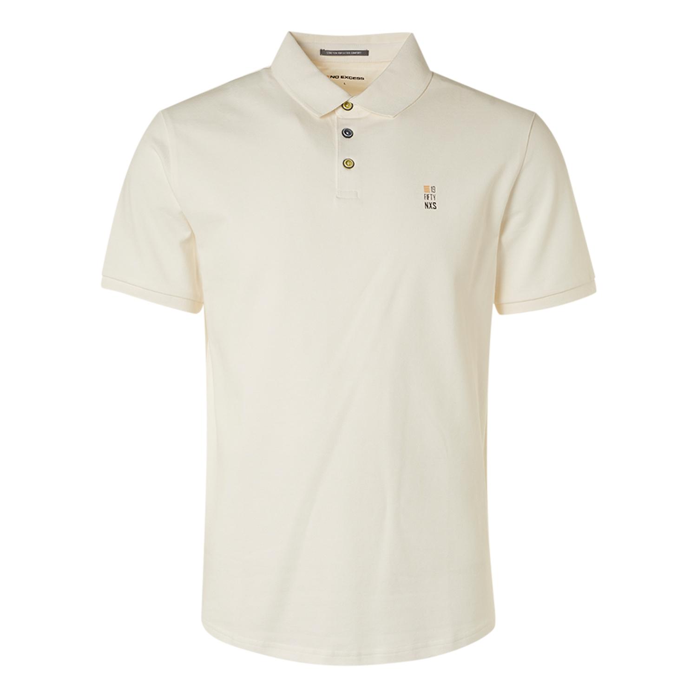 No Excess Polo Shirt weiß 11390160SN 010-White