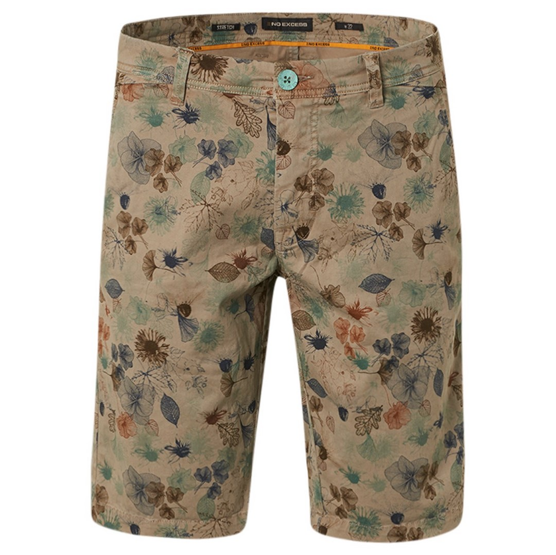 No Excess Chino Short mehrfarbig Floral Muster 118190322 043