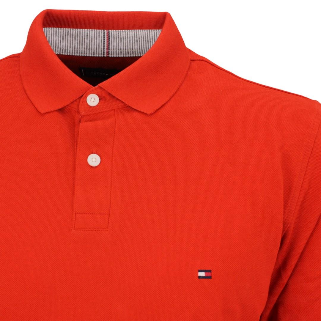 Tommy Hilfiger Langarm Shirt MW0MW20183 SG4 orange Indian summer 1985 Regular LS Polo