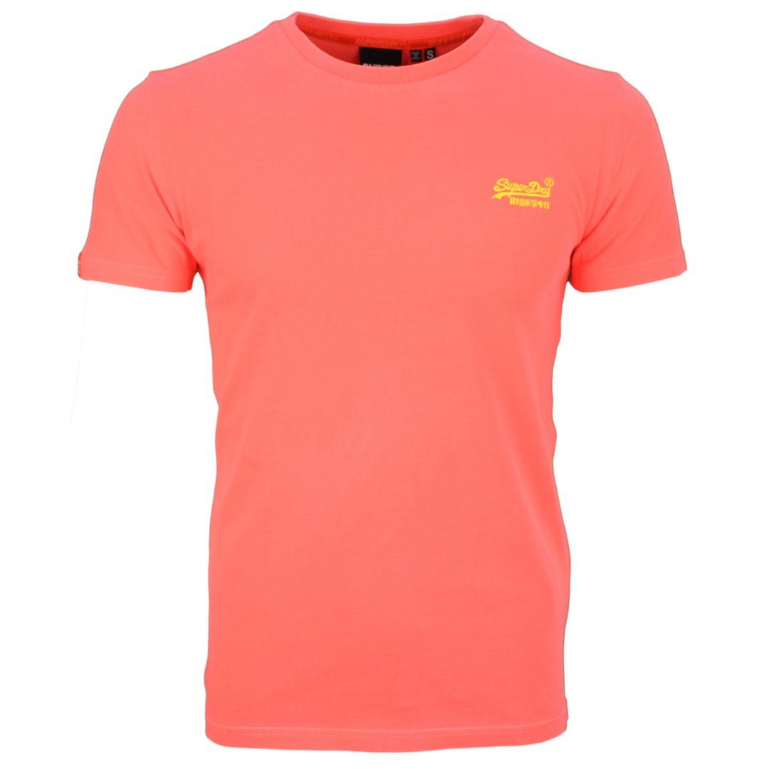 Superdry Herren T-Shirt Orange Label Neon Lite orange M1010026A B5T orange