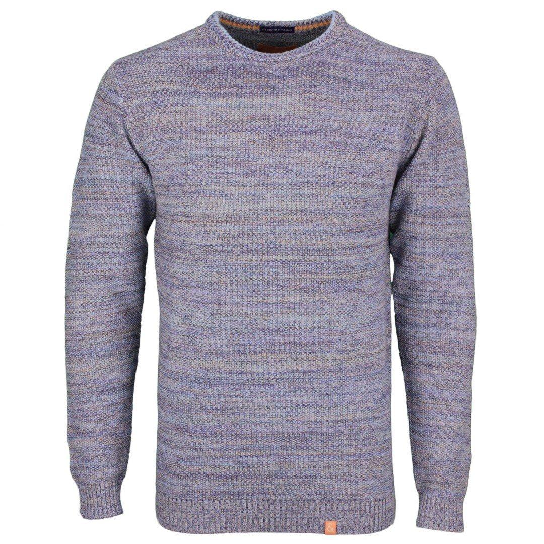 Colours & Sons Herren Strick Pullover mehrfarbig meliert 9121 131 911