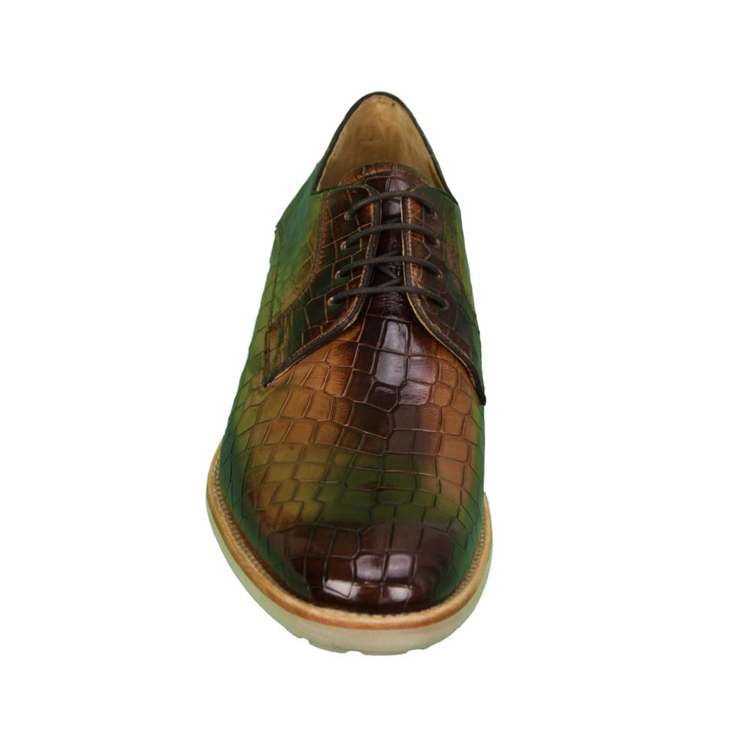 Melvin & Hamilton Herren Halbschuhe Schuhe braun Eddy8 106561 cognac