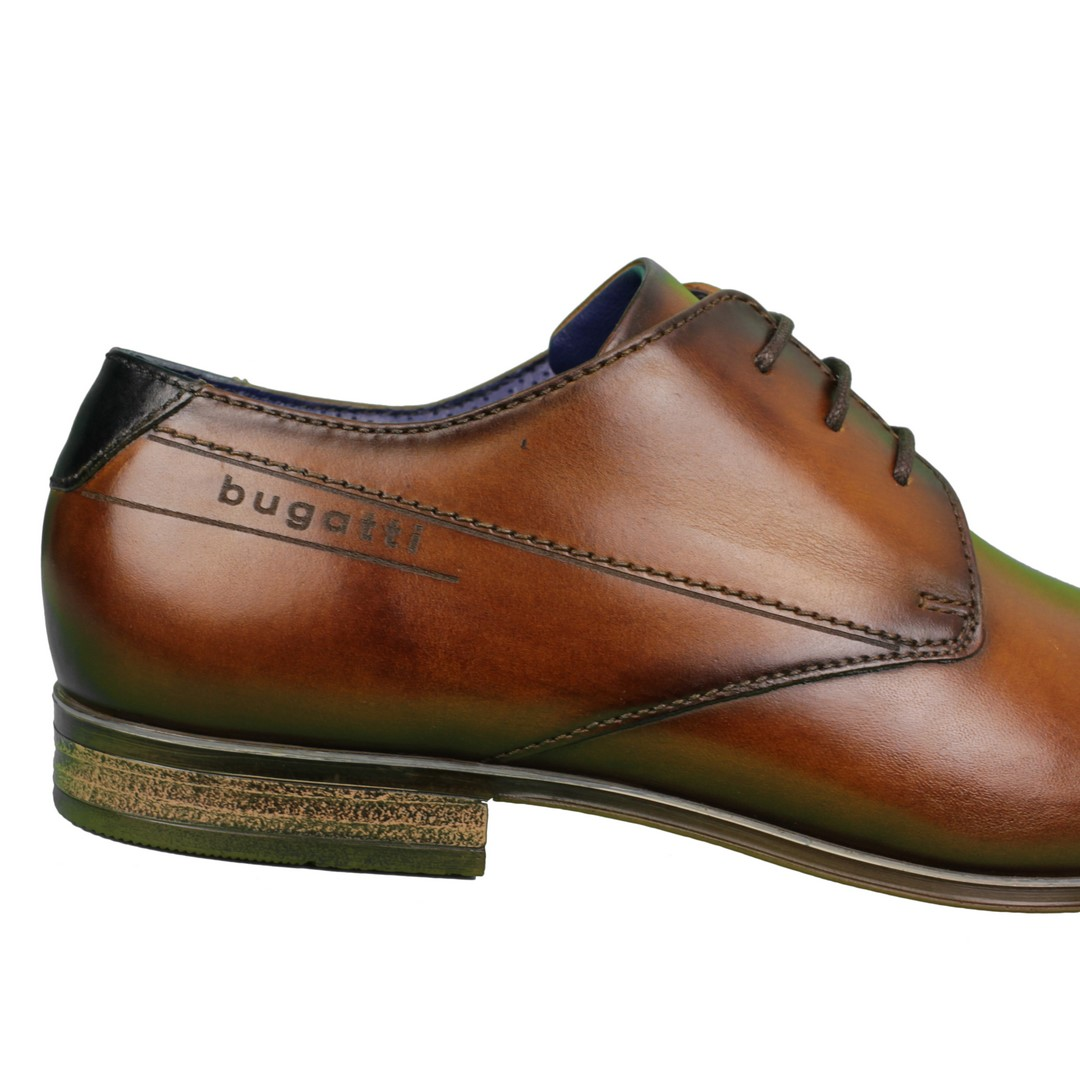 Bugatti Herren Schuhe Schnürschuhe braun 311 A3104 1100 6300 cognac