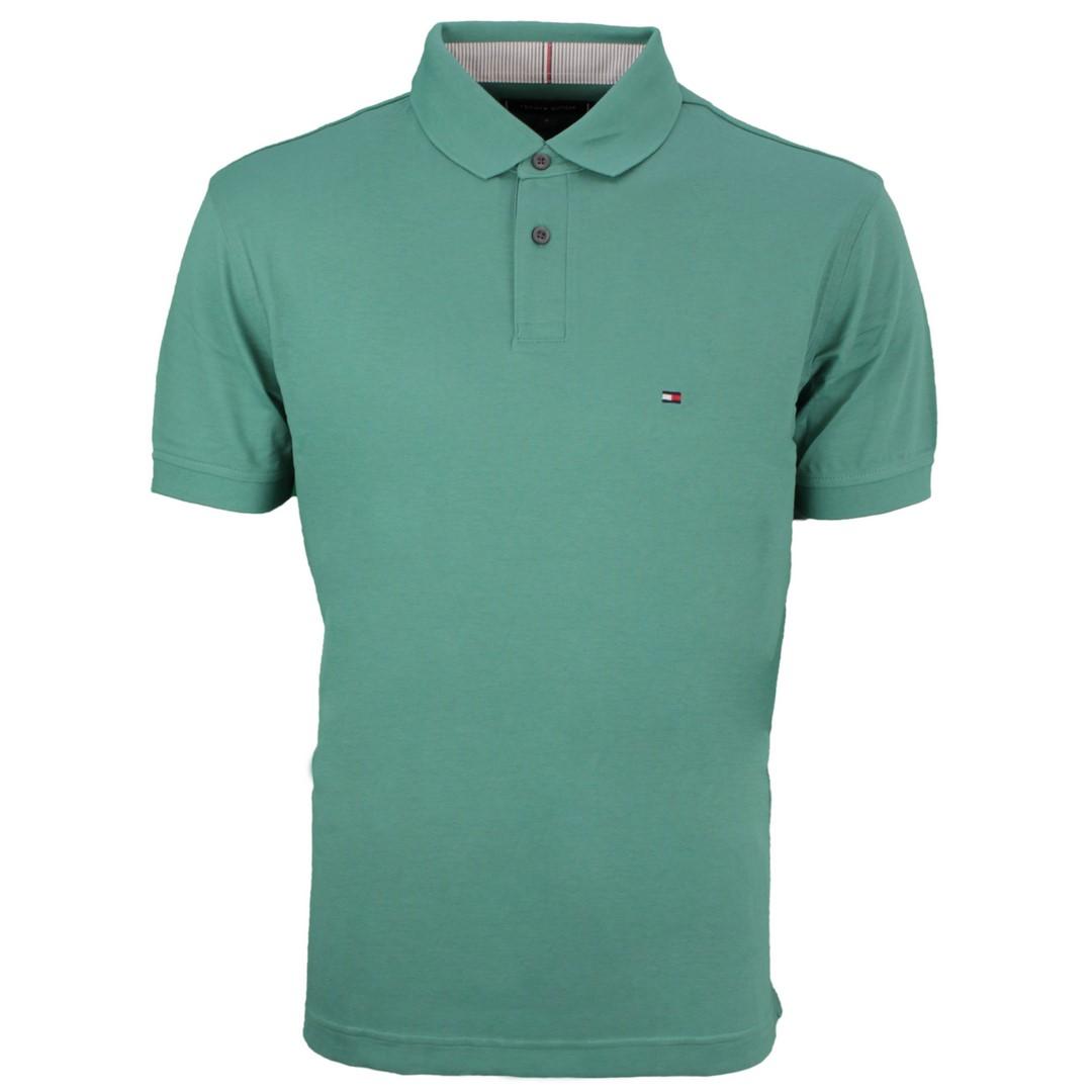 Tommy Hilfiger 1985 Regular Polo Shirt grün MW0MW17770 L5W Glazed Green