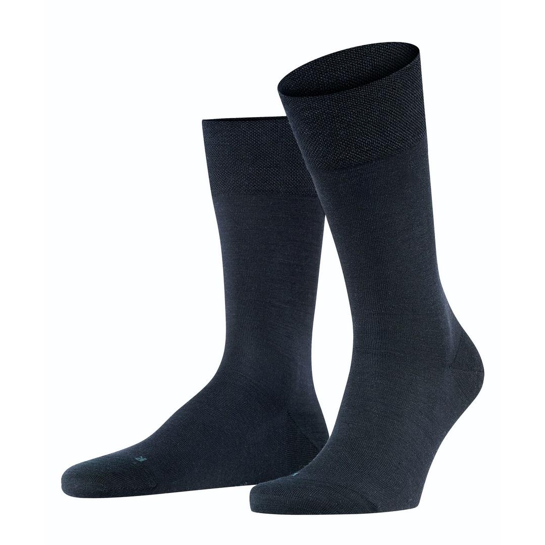 Falke Socken dunkelblau Sensitive Berlin 14416 6370 dark navy