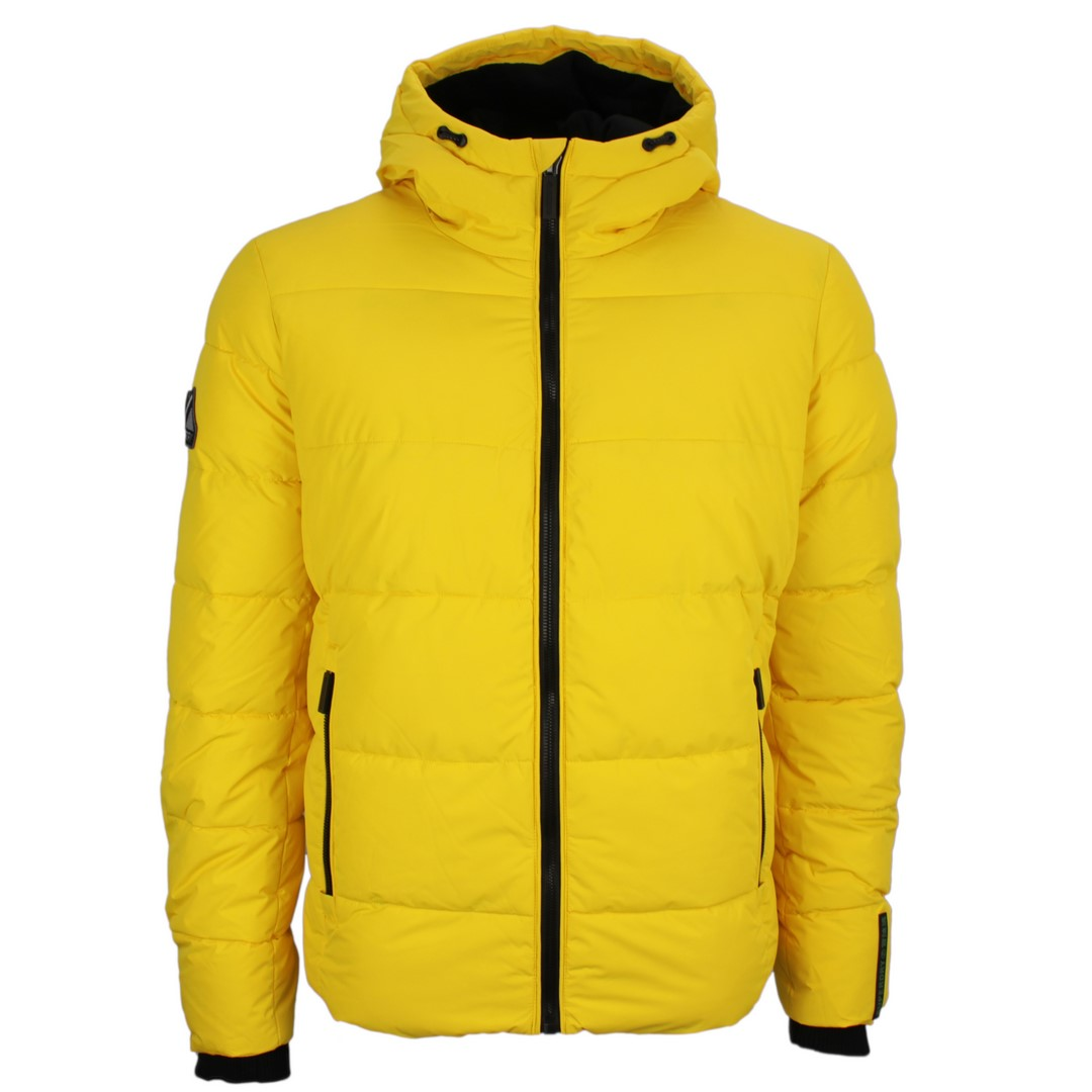 Superdry Herren Winter Jacke Sports Puffer gelb gesteppt M5010227A 02K yellow