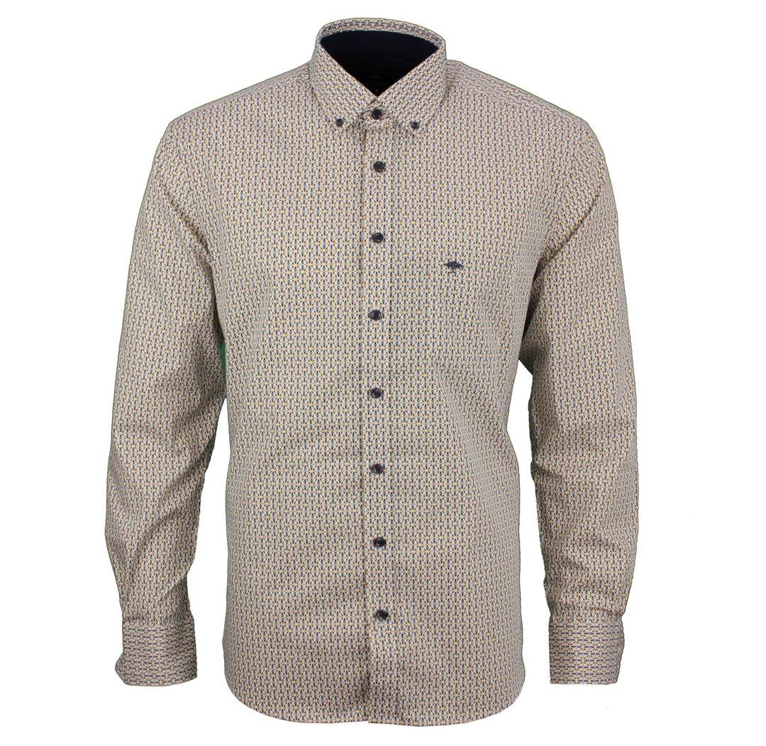 Fynch Hatton Hemd mehrfarbig gemustert 111218020 8020 sunlight