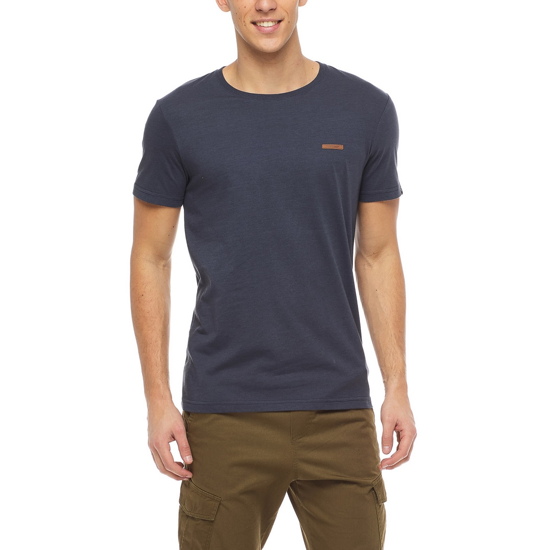 Ragwear Herren T-Shirt Shirt kurzarm Nedie vegan blau 2122 15001 2028 Navy