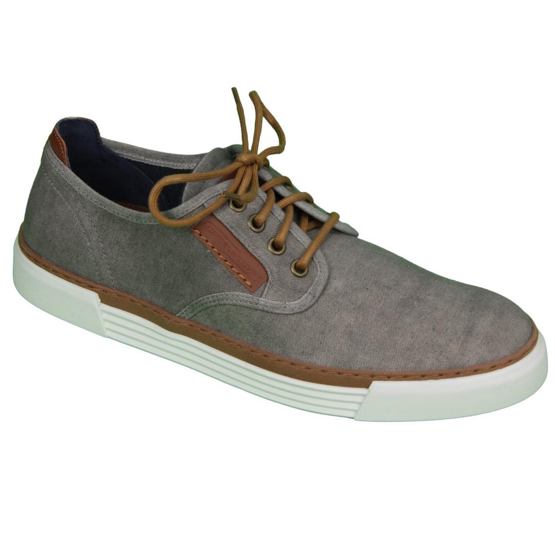 Camel active Herren Sneaker Schuhe Racket blau grau 460.14 01