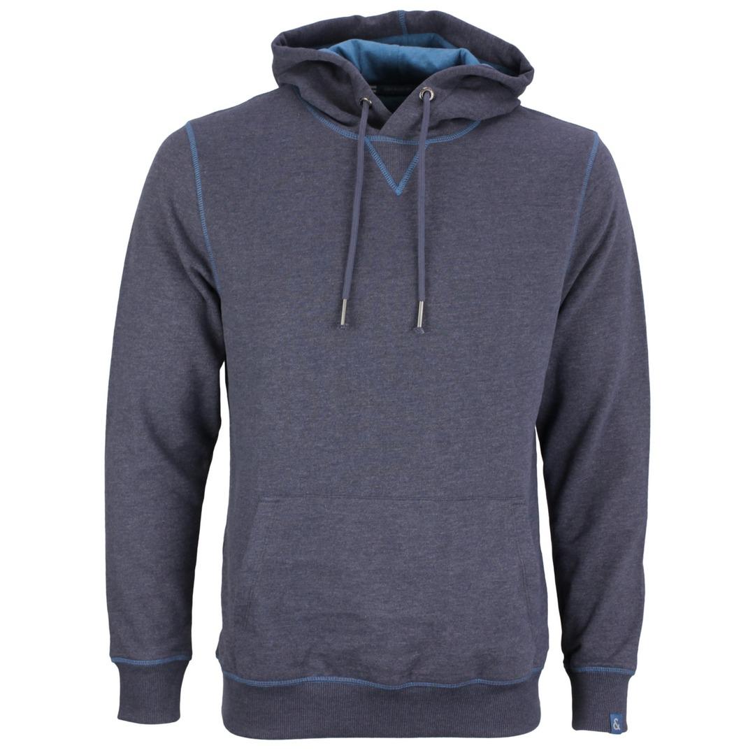 Colours & Sons Herren Sweatshirt Kapuzenpullover Hoodie 9221 443 699 Navy