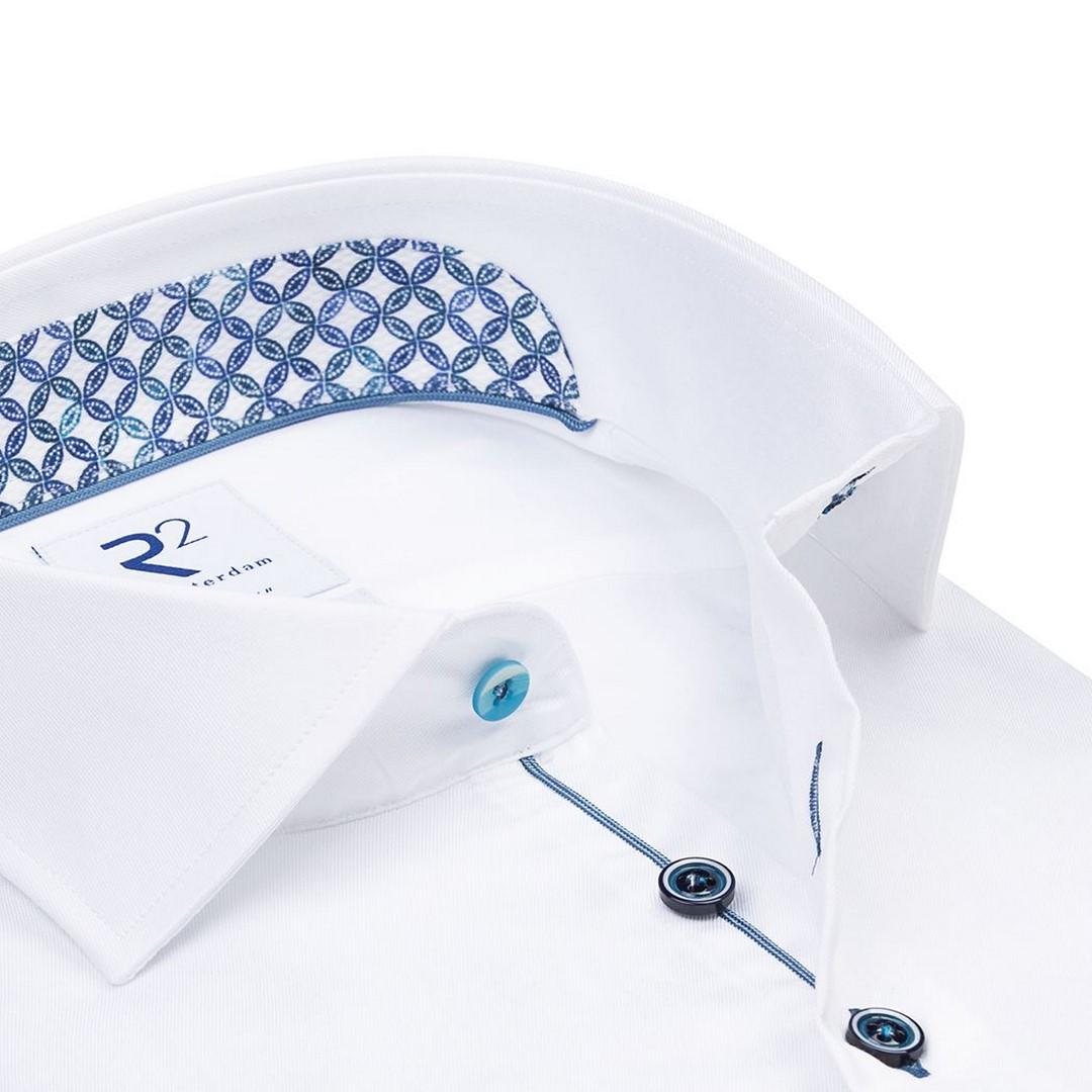 R2 Amsterdam Herren Hemd Widespread weiß 112.WSP.065 004 weiß