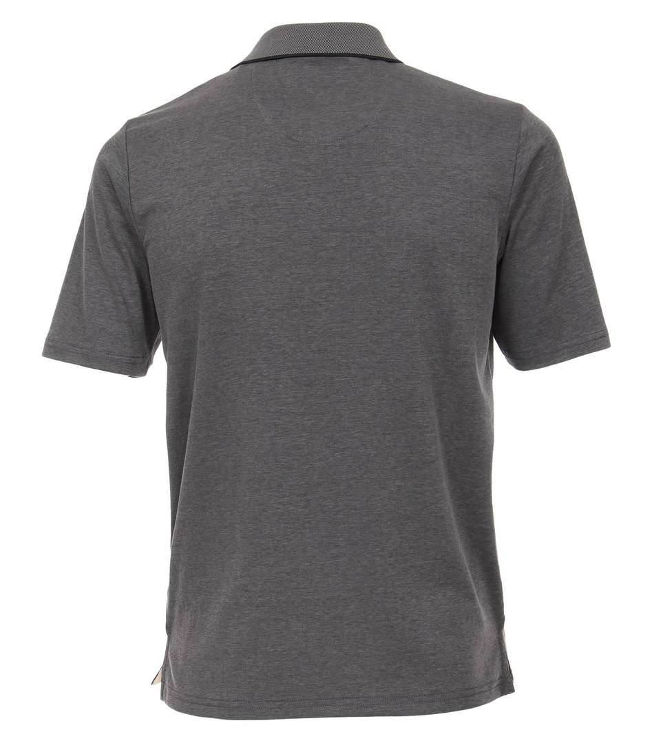 Redmond Polo Shirt Uni grau 912 79
