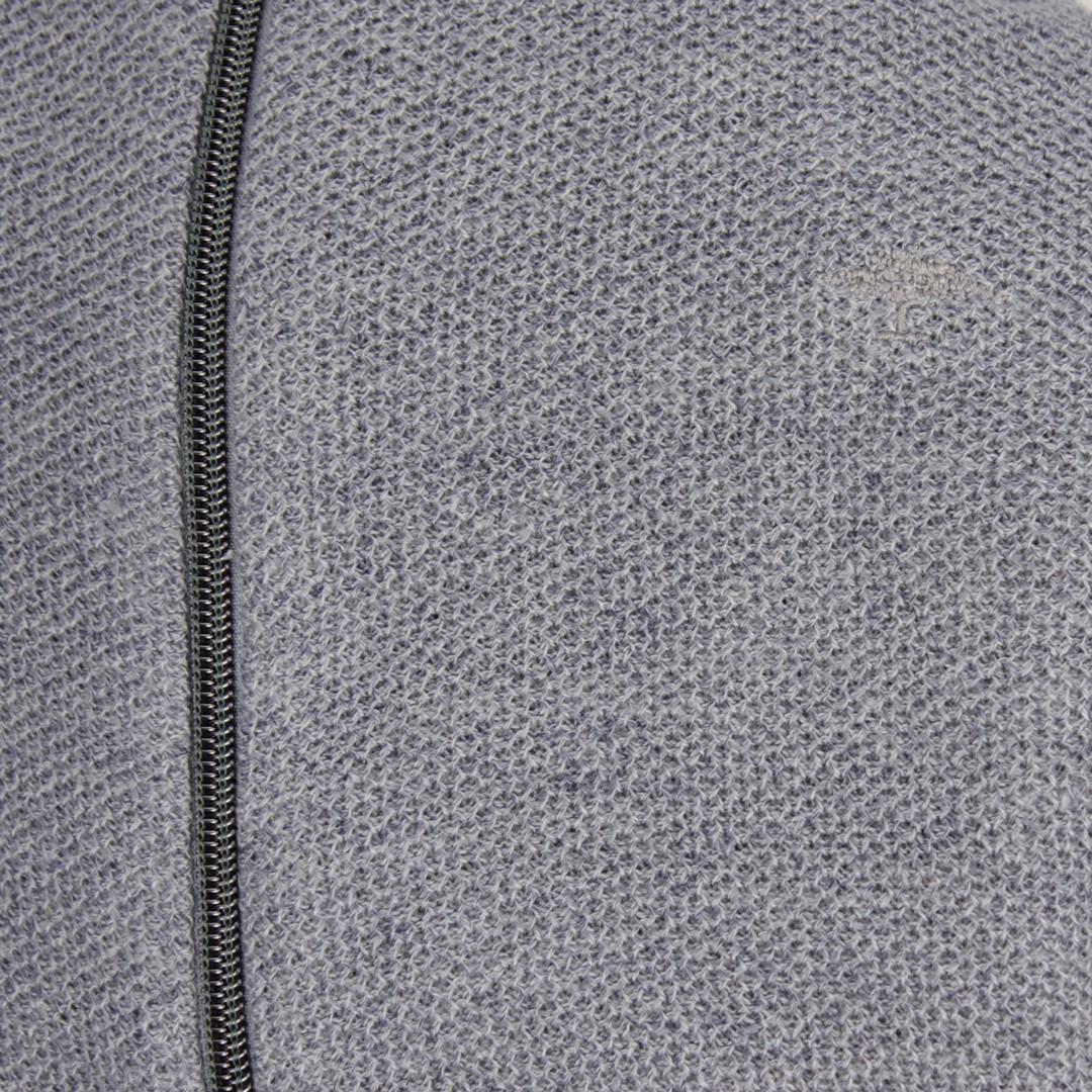 Fynch Hatton Herren Strickjacke grau strukturiert 1120422 607 moonlight