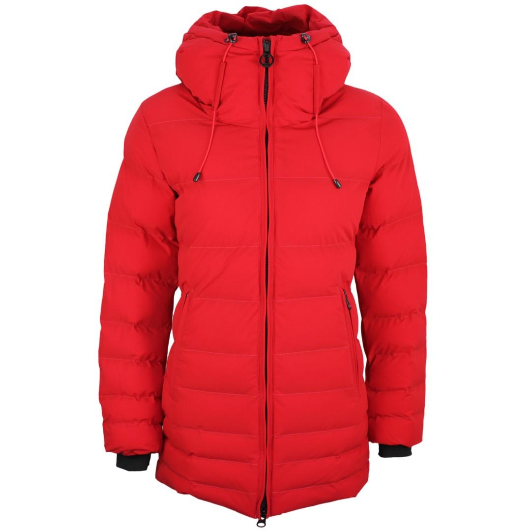 Wellensteyn Damen Winter Jacke Cordoba rot COBA 856 red