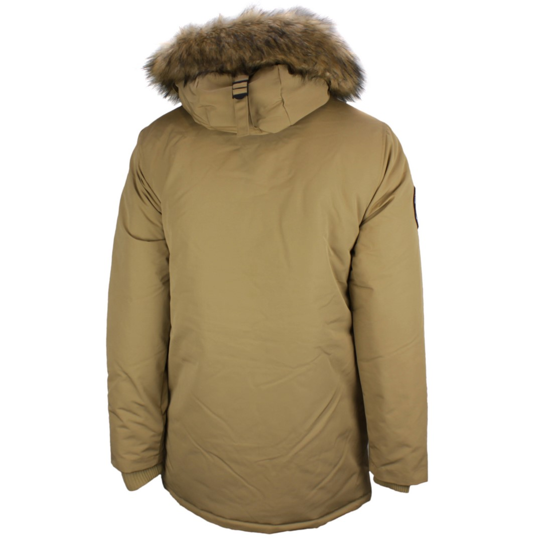 Superdry Herren Winter Jacke Everest Parka beige M5010204A CJM classic Tan