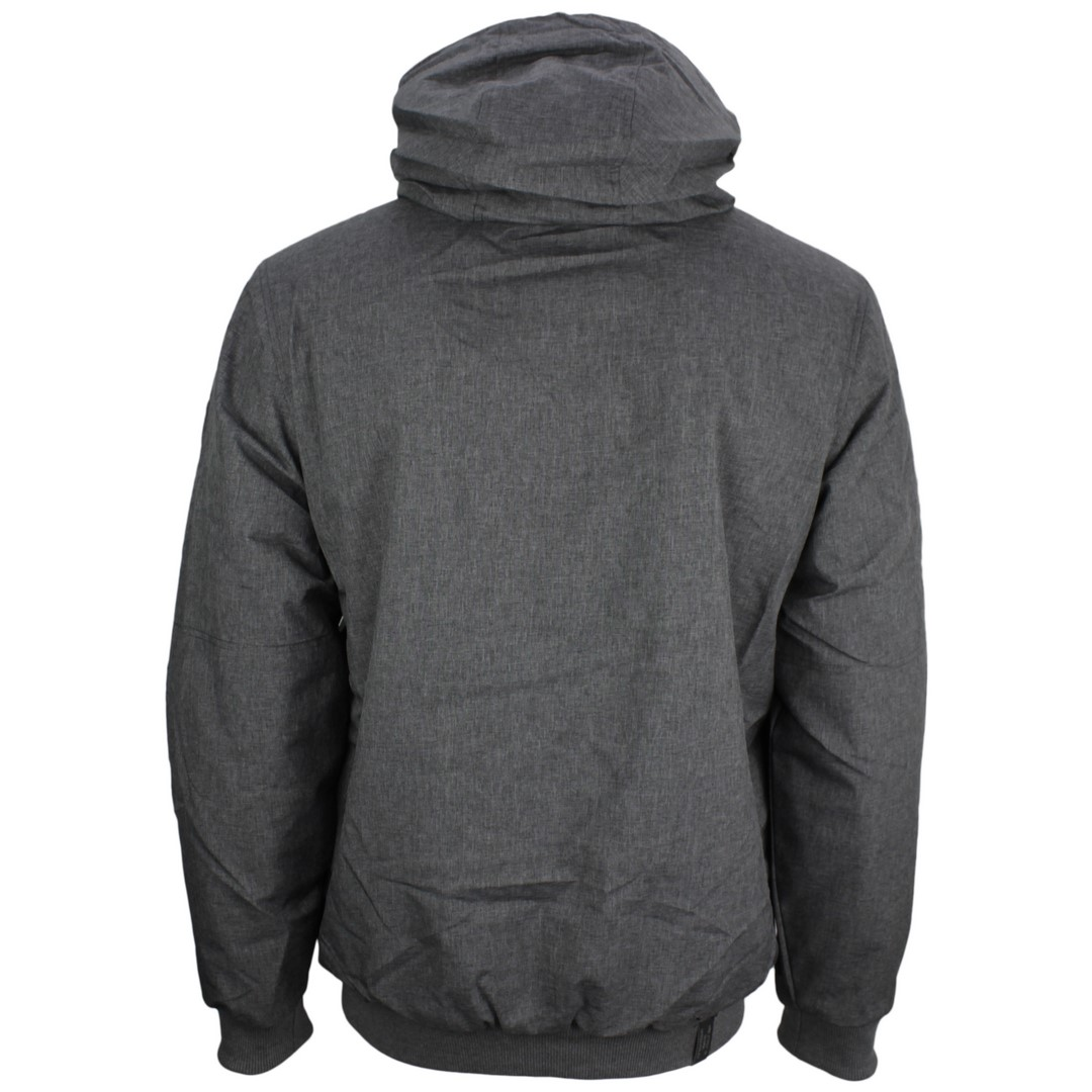 Ragwear Herren Vegane Winter Jacke grau unifarben Stewie 2022 60003 3000 grey