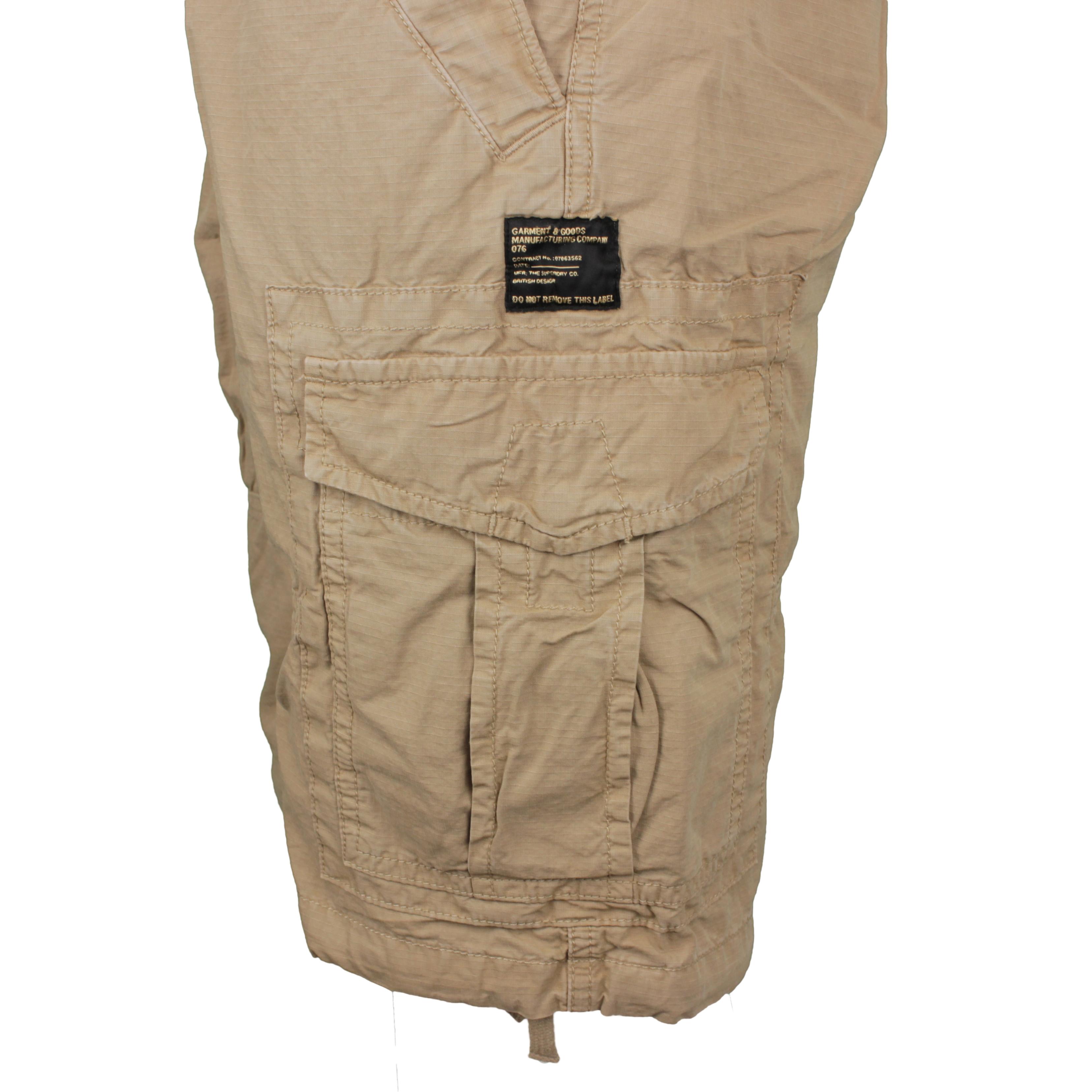 Superdry Parachute Cargo Short beige M7110249A 13K sand