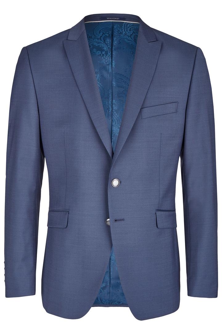 Wilvorst Herren Hochzeitsanzug Sakko dunkel blau  461101 033