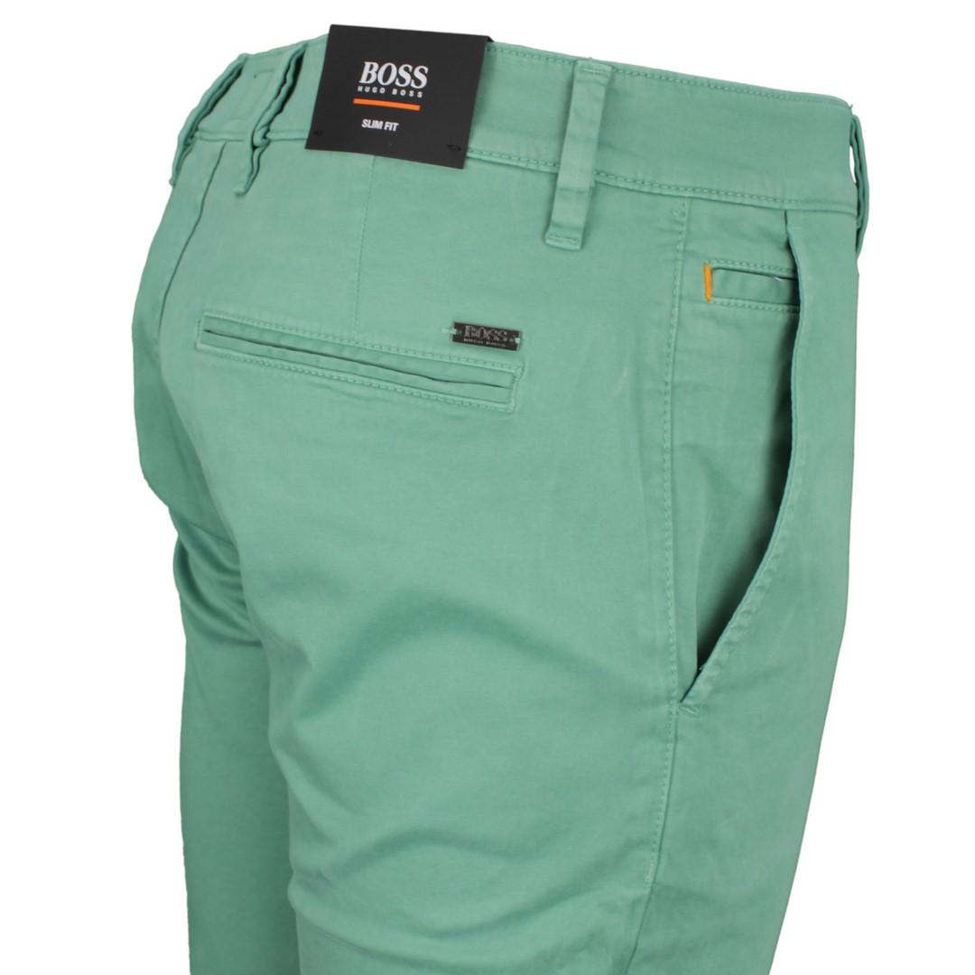 Boss Orange Herren Chino Hose grün Schino-Slim 50379152 345