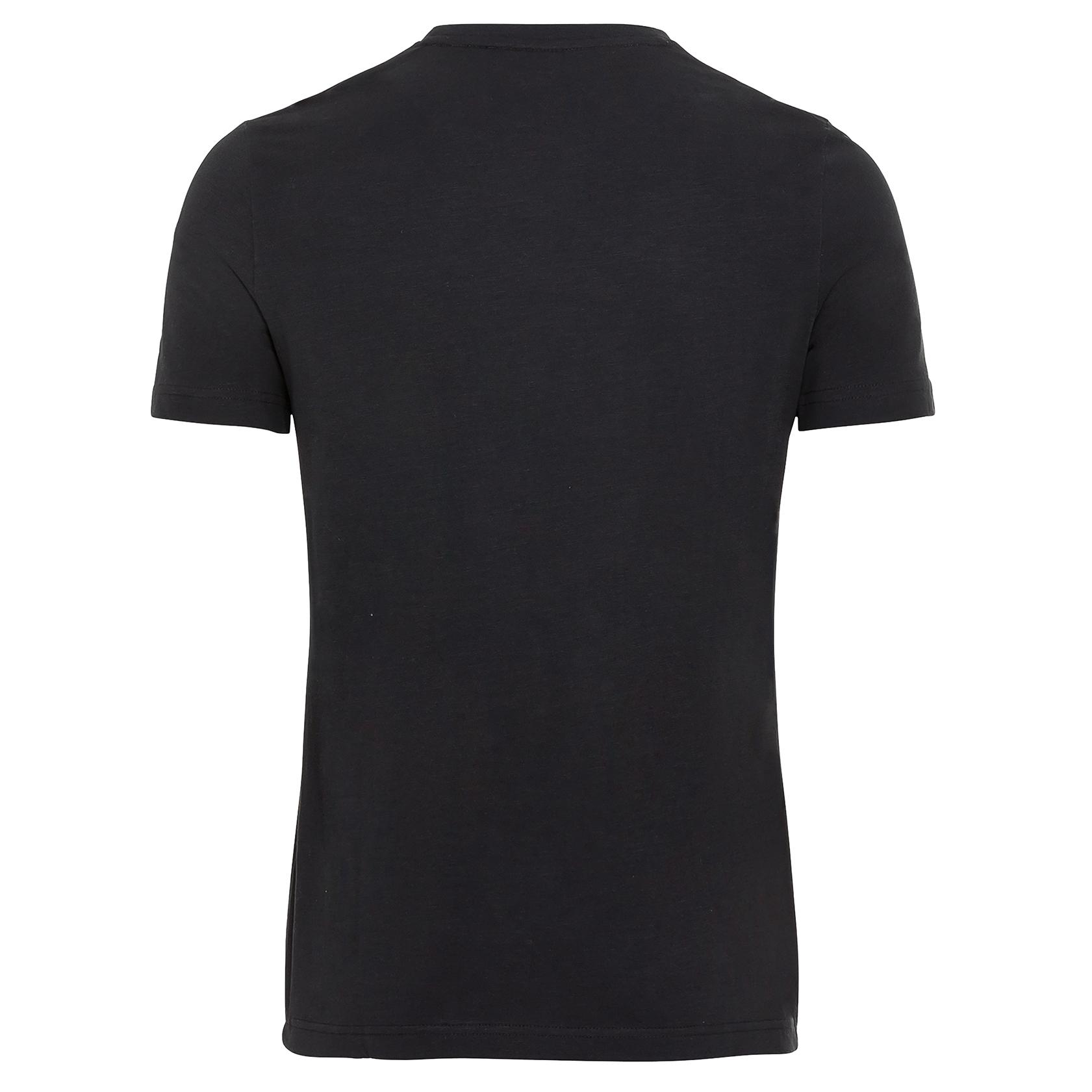Camel active Herren T-Shirt Shirt kurzarm schwarz Print 5T42409642 88