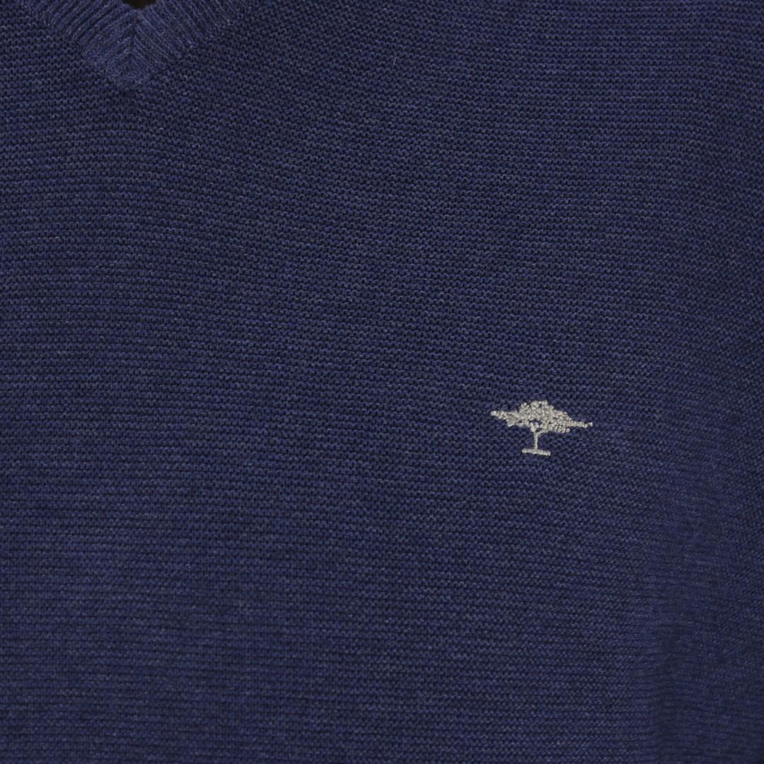 Fynch Hatton Herren Strick Pullover blau 1120234 680 night