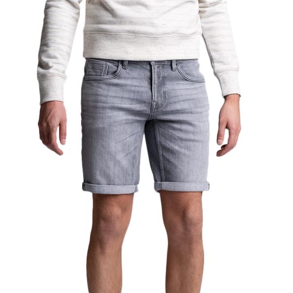 PME Legend Nightflight Comfort Jeans Short grau PSH160 GDM