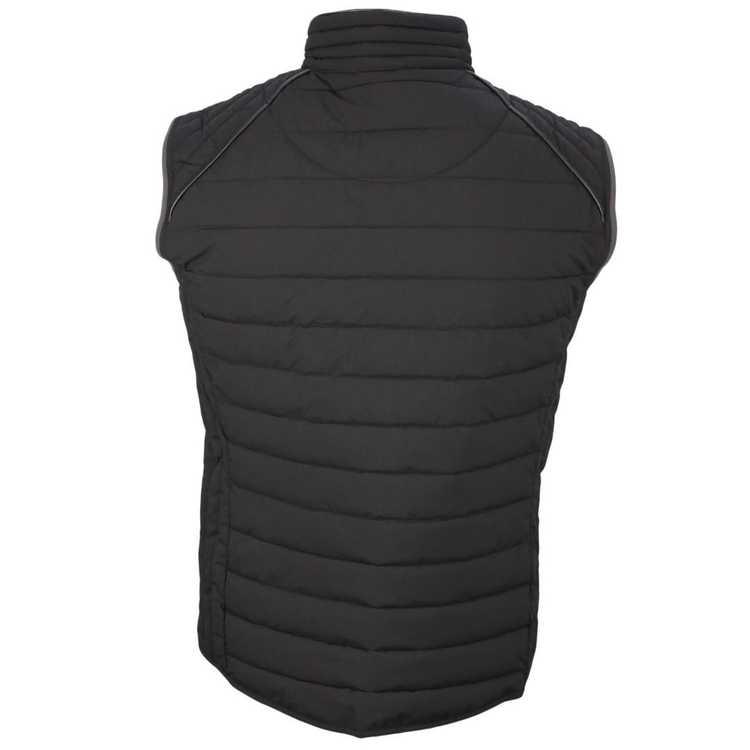 Wellensteyn Herren Weste MOL Men Vest schwarz Unifarben MOVM 719 schwarz