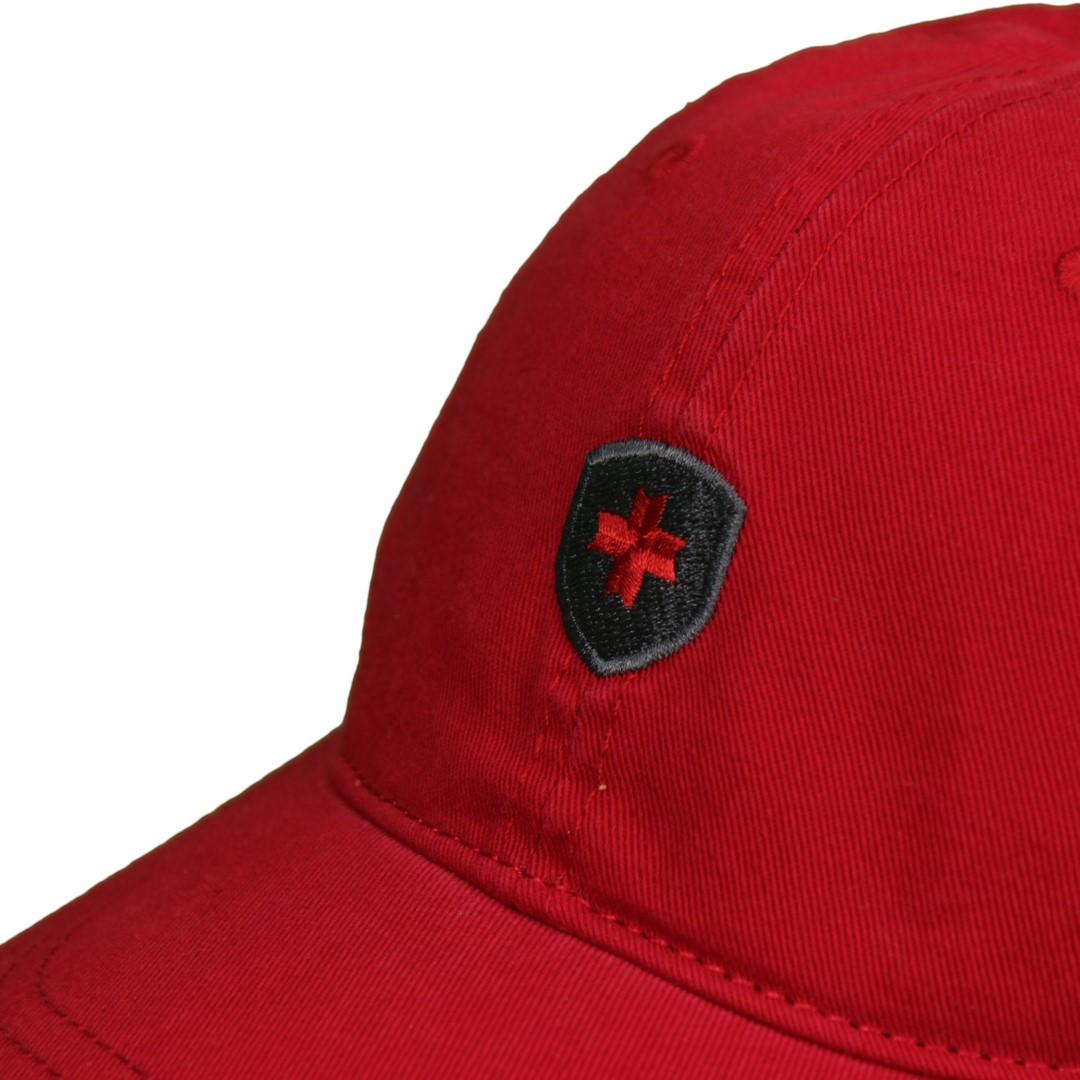 Wellensteyn Baseball Cap Kappe rot PBSC 198 redmelange