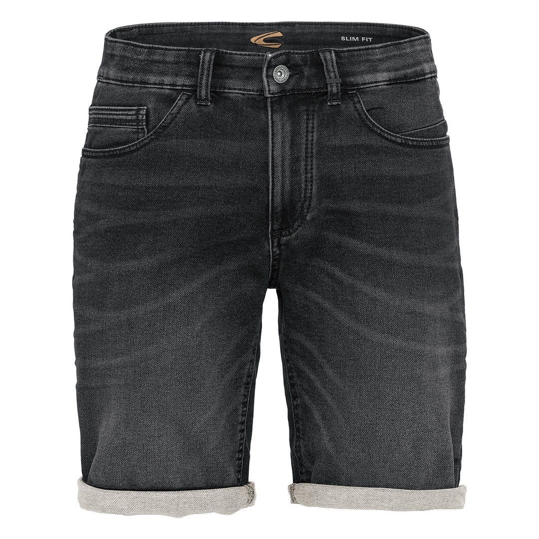 Camel active Herren Jeans Shorts Madison Denim anthrazit 5U73498225 08