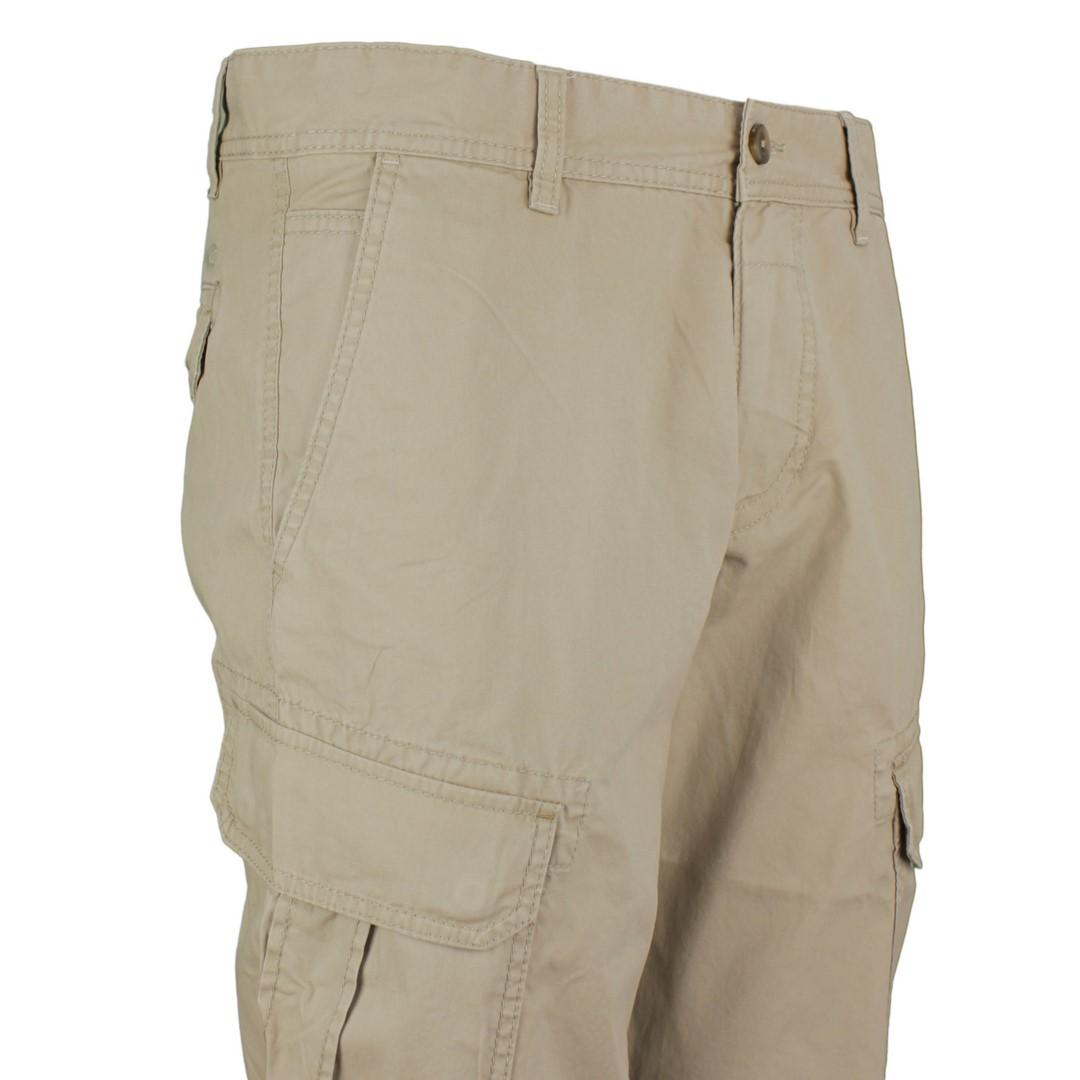 Camel active Herren Cargo Capri Short beige unifarben 3R96 496650 10