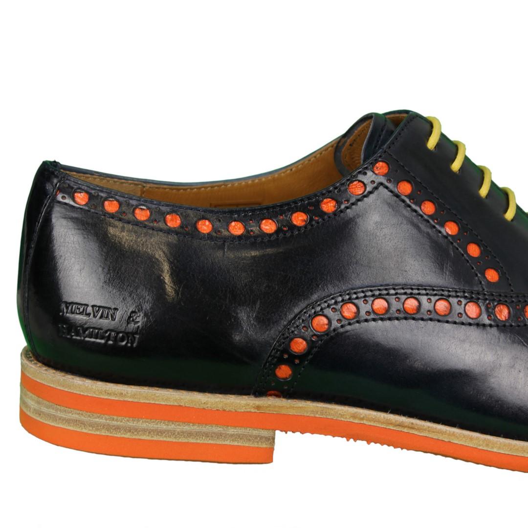 Melvin & Hamilton Herren Halbschuhe Schuhe blau Scott 15 104588 navy