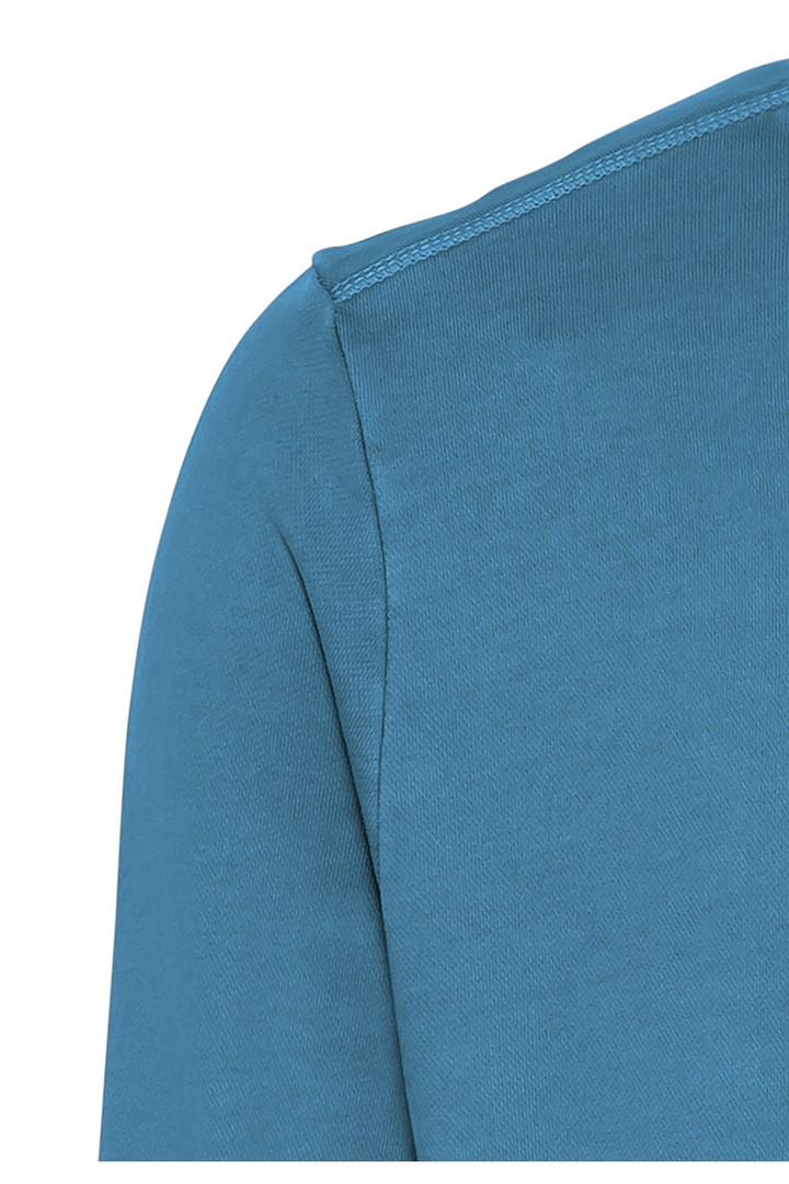 Camel active Herren Basic Sweat Shirt blau unifarben 5F04 409347 48