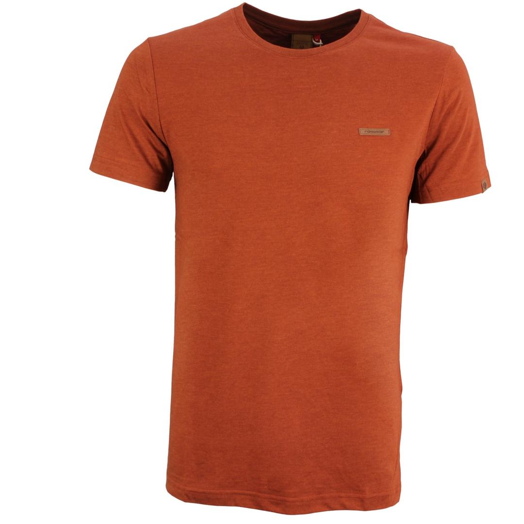 Ragwear Herren T-Shirt Shirt kurzarm Nedie vegan orange 2122 15001 6001 Terracotta