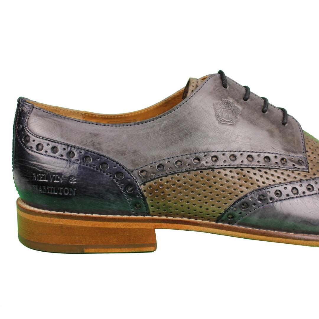 Melvin & Hamilton Herren Halbschuhe Schuhe braun Martin15 110781 natural