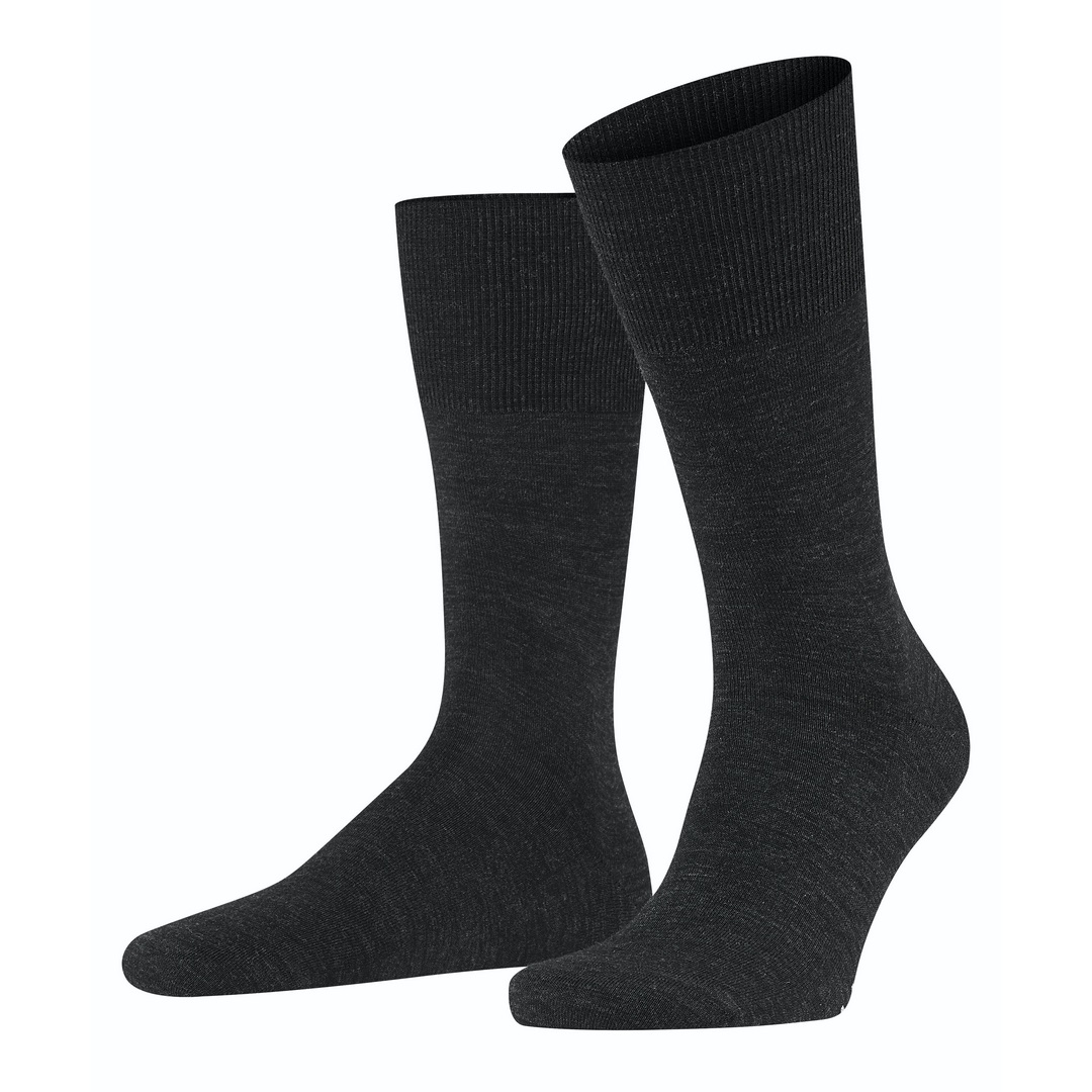 Falke Socken dunkelgrau meliert Airport 14435 3080 anthramel