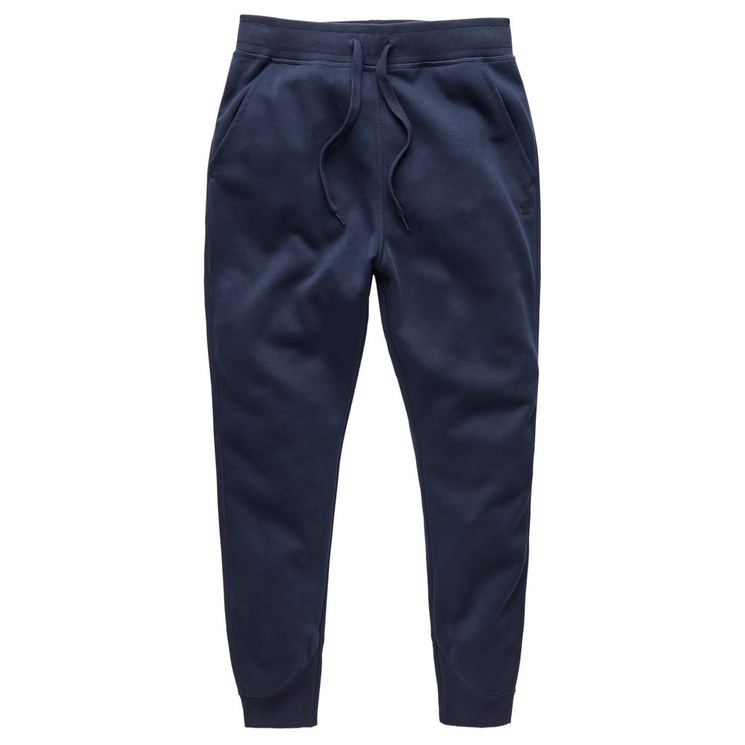 G-Star Raw Jogging Hose Pacior Sweat marine blau D15653 C235 6067 sartho blue