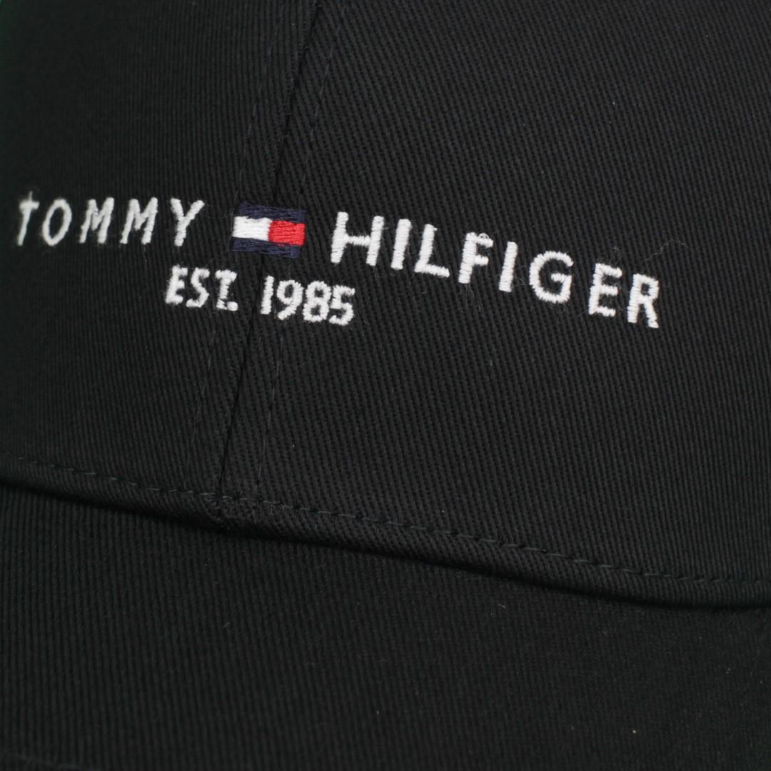 Tommy Hilfiger Kappe Baseball Cap The established Cap schwarz AM0AM07352 BDS