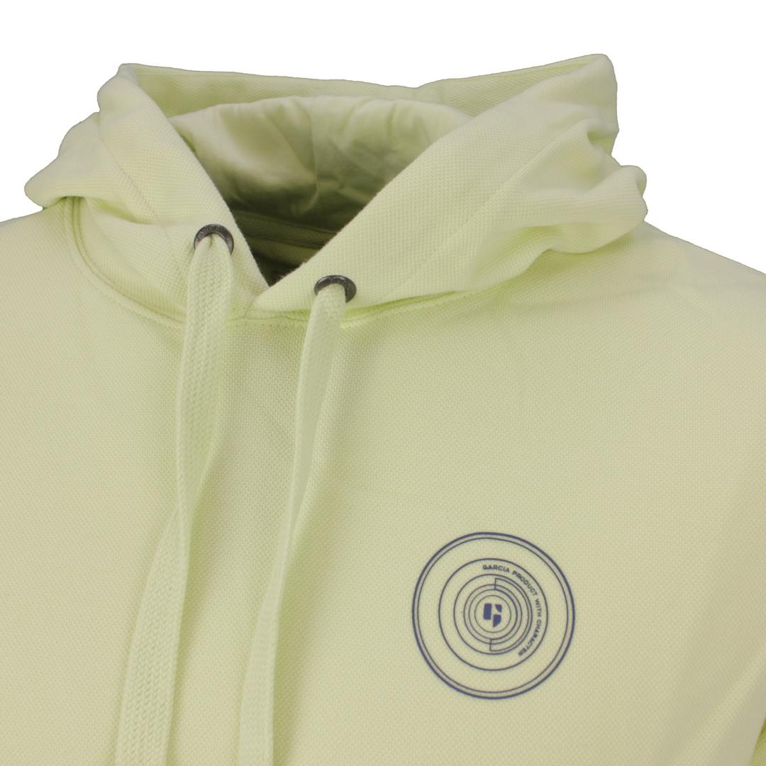 Garcia Herren Sweat Pullover grün unifarben D11265 7513 neon lime