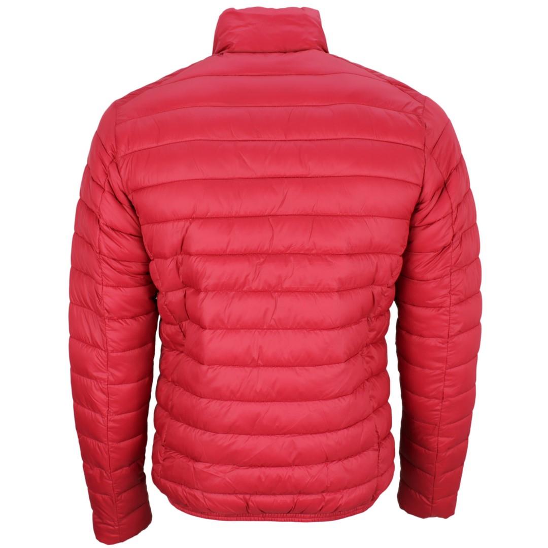 Save the Duck Herren Winter Jacke rot gesteppt D3243M Giga9 00119 tango
