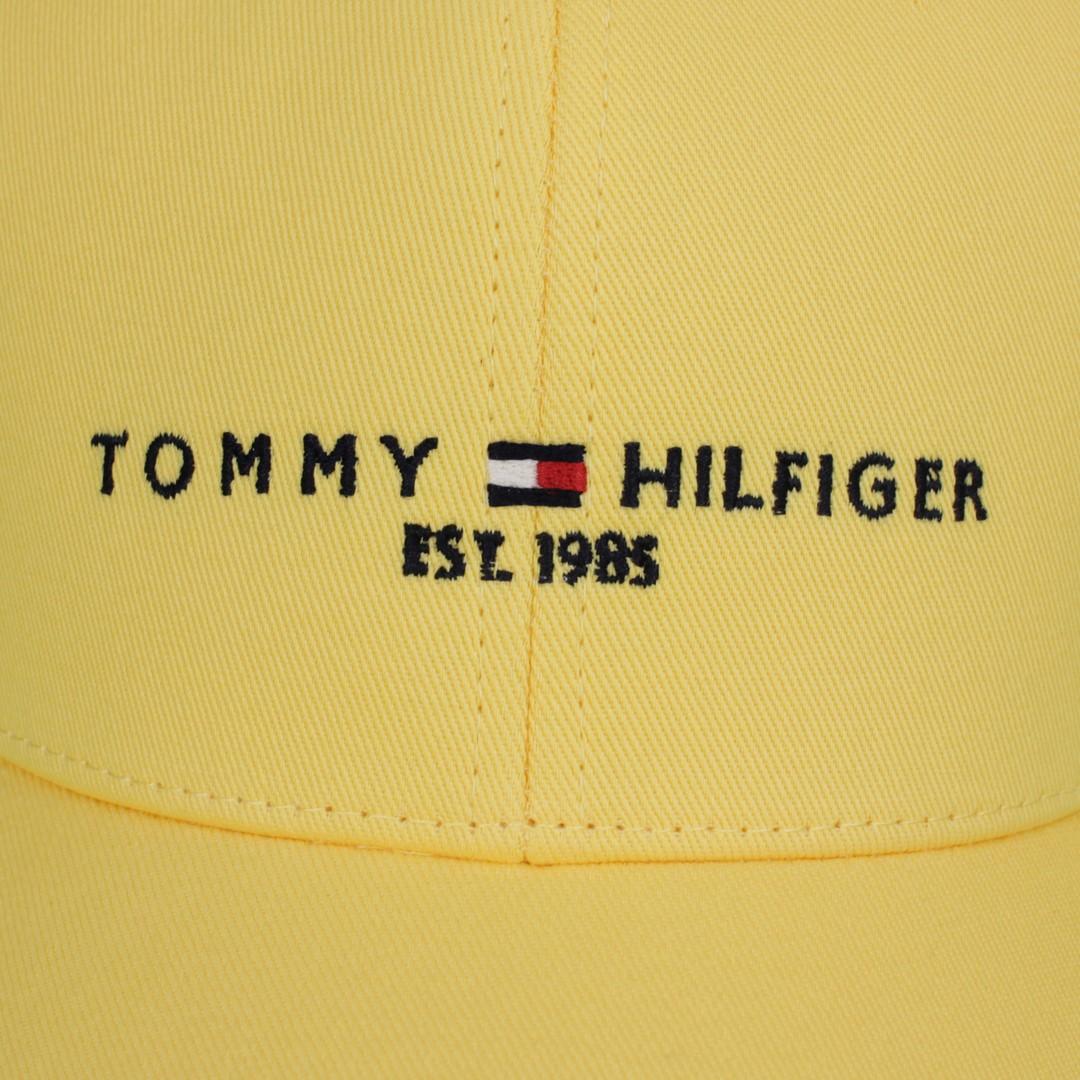 Tommy Hilfiger Kappe Baseball Cap The established Cap gelb AM0AM07352 ZFF