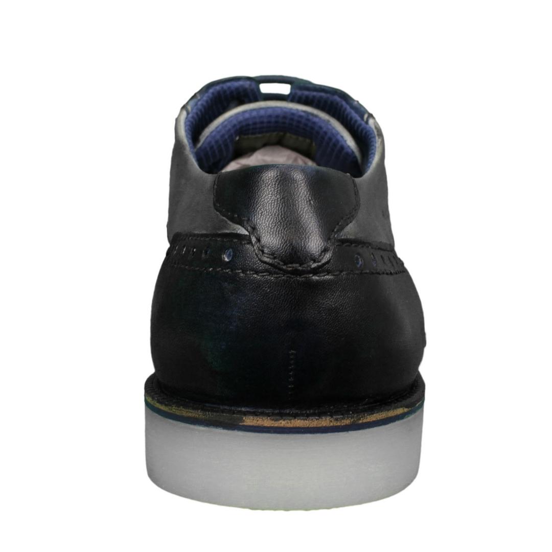 Bugatti Herren Schuhe Schnürschuhe grau blau 312 64703 4110 4012 blue light grey