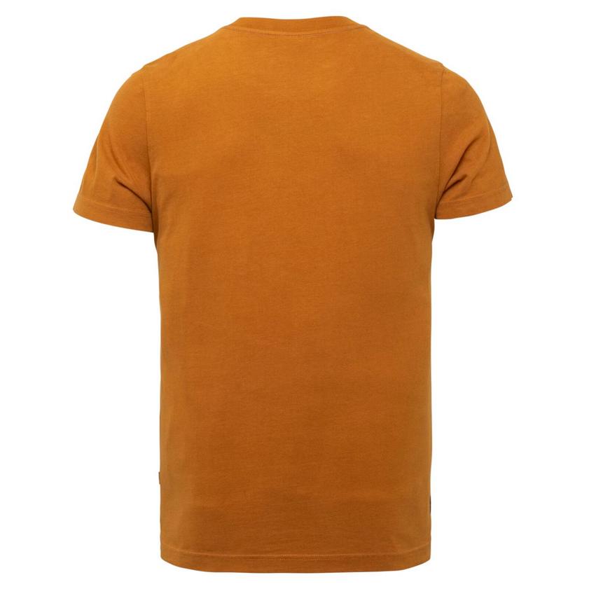 PME Legend Herren T-Shirt short sleeve peach heavy orange PTSS216571 8214 pumpkin spice