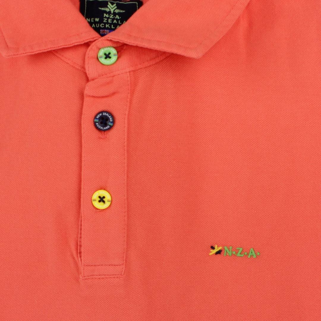 New Zealand Auckland NZA Polo Shirt orange 21CN150 607