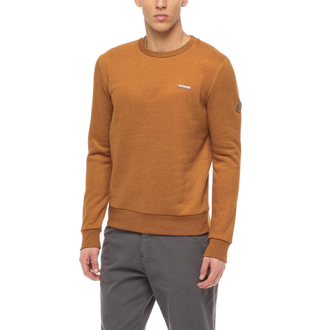Ragwear Herren Sweatshirt Indie vegan braun unifarben 2122 30001 6024 Cinnamon