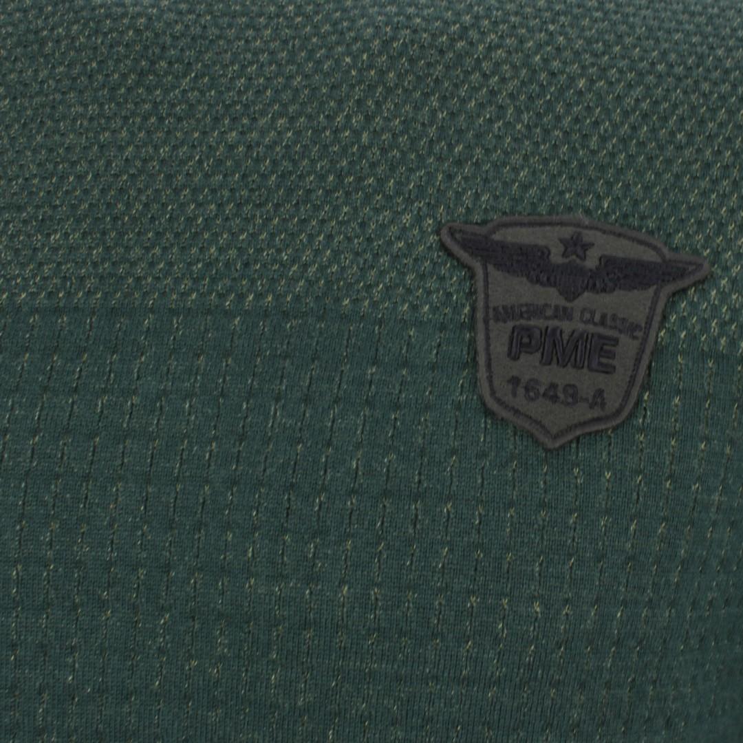 PME Legend Herren Strick Pullover grün strukturiert PKW207311 6429