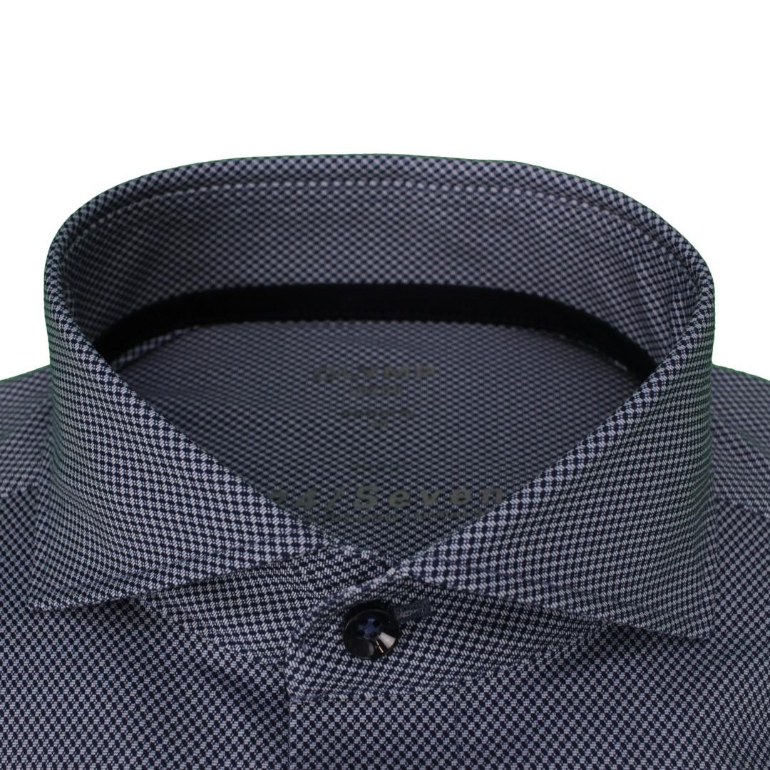 Olymp Hemd 24/Seven Seven Dynamic Flex Jersey All Time Shirt blau 129674 18