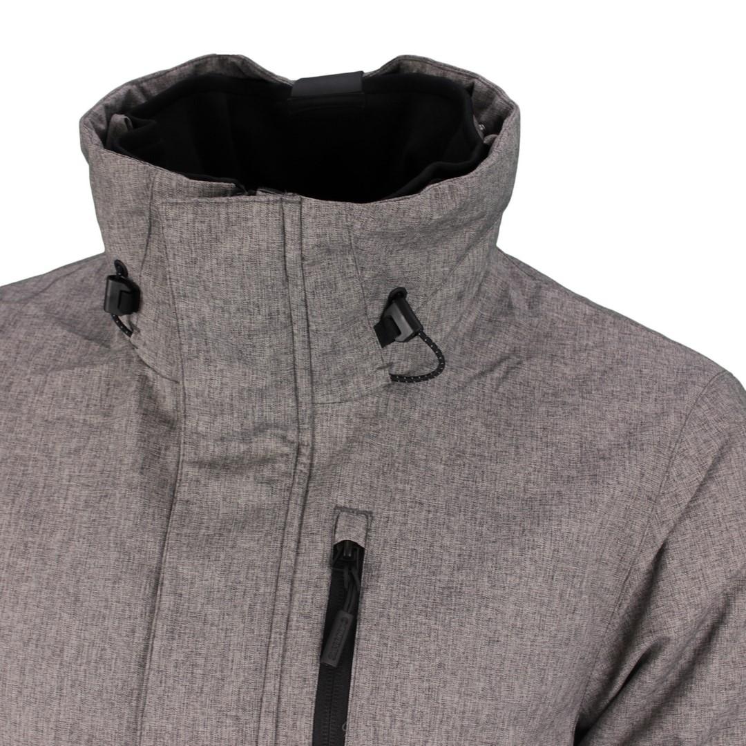 Superdry Herren Jacke Hurricane Jacket grau unifarben M5010174A HBA mid grey